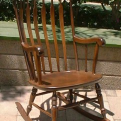 Rocking Nursing Chair Game Tables And Chairs Nichols & Stone Arrowback Rocker