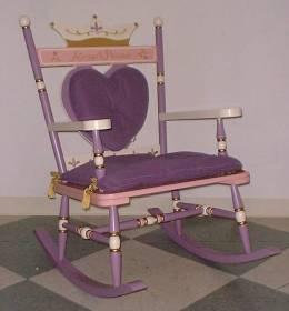 Adult Princess Rocking Chair
