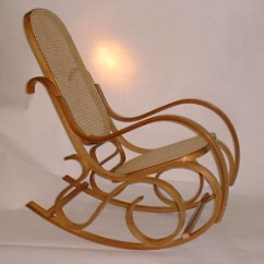 Bent Wood Rocking Chair Pier One Imports Slipcovers Bentwood Rockers Honey Oak Finish Cane Seat And Back