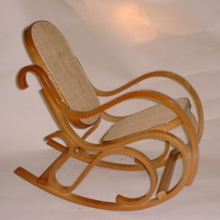 Bent Wood Rocking Chair Havertys Dining Chairs Child S Bentwood Rockers Honey Oak Finish