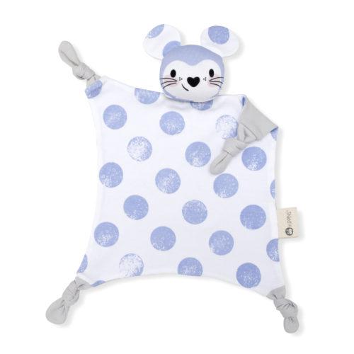 澳洲Kippins有機棉安撫巾 – 月亮小鼠 Luna Kippin   Rocking Baby