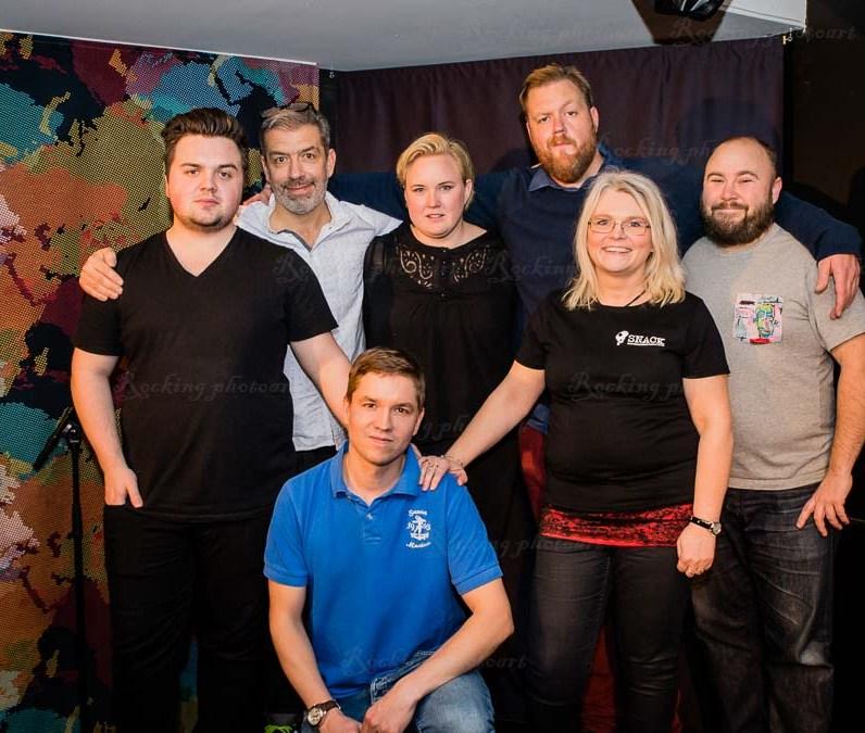 Carl Stanley, Mats Olausson, Cecilia Lind, Kristoffer Appelquist, Erik Börén, Tobias Erehed, Agneta Gottberg Henriksson