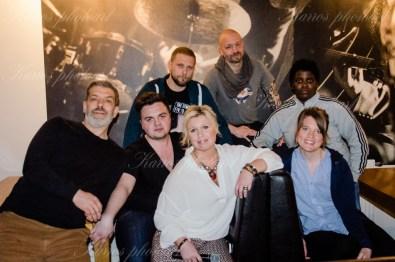 Mats Olausson, Carl Stanley, Magnus Betnér, Kent Wisti, Petrina Solange, Tutti Blixt, Anna Dieden