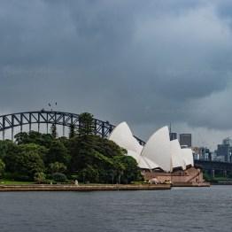 View from Royal Botanic Garden