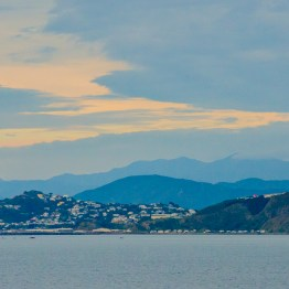 Cook strait, Wellington
