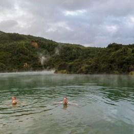 A big hot spring