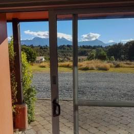 Te Anau, view from the room