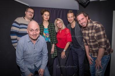 Lasse Karlsson, Jonathan Brynielsson, Madeleine Walderhaug, Jessica Persson, Per Anders Rydell, Joaquim Nicander
