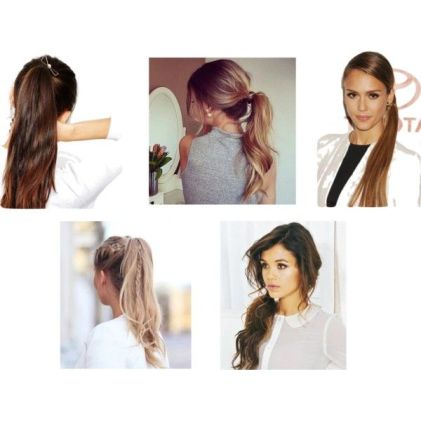 Ponytail inspiration