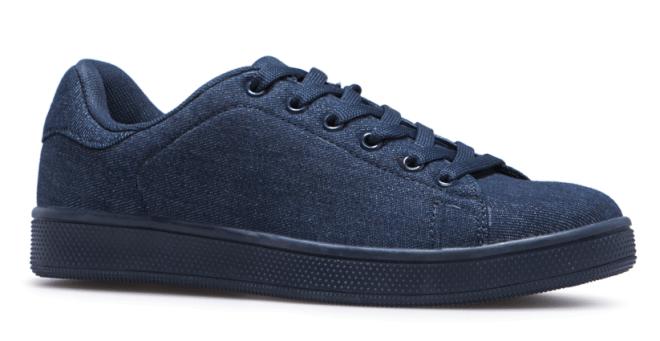 denim sneakers, footwear