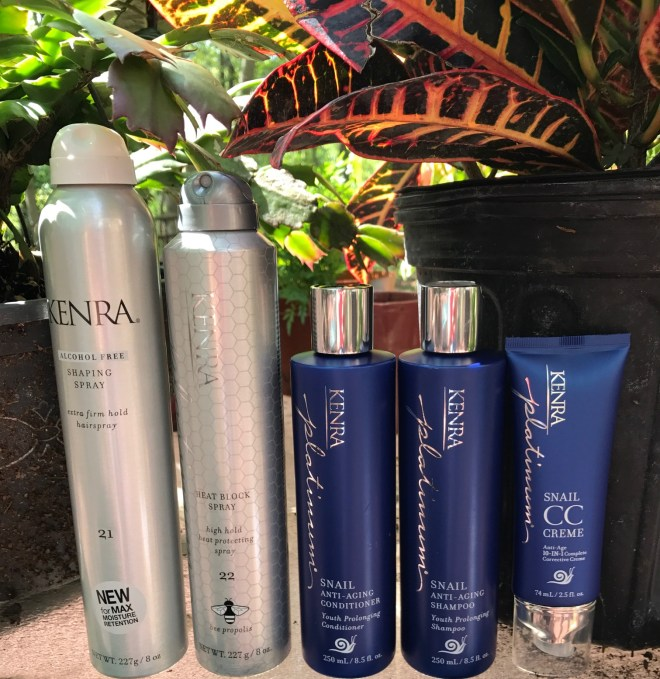 kenra #SprayResponsibly#hair#Kenra#beehot#AntiAging#KenraProfessional #snailedit