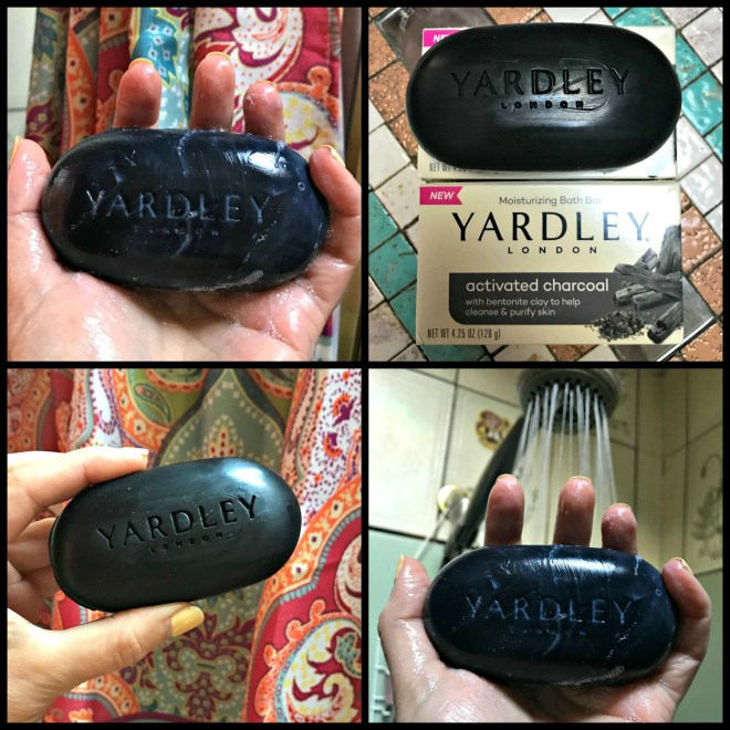 Yardley Activated Charcoal, bathbar, soap, drug store finds