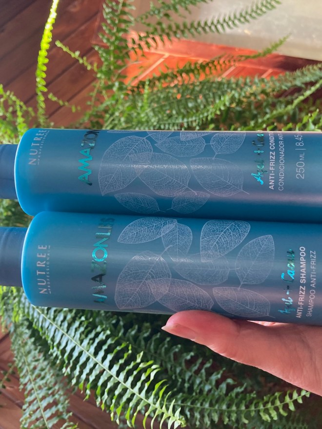 hair care nutree Brazilian  shampoo conditioner hair treatment