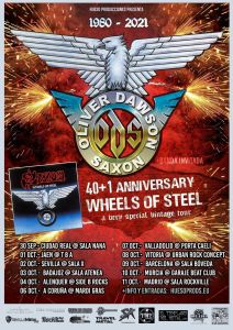"ODS ""40+1TH Anniversary Wheel Of Steel Tour"""