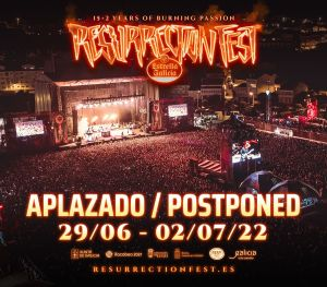 El Resurrection Fest Estrella Galicia se aplaza a 2022