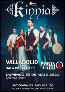 Kinnia en Valladolid el 30 de mayo 2021
