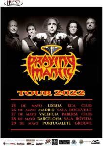 Praying Mantis en Madrid el 26 de mayo de 2022