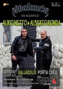 Alberto Rionda y Alirio Netto de Avalanch en Gira