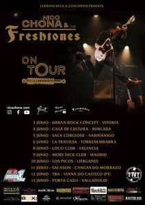 NICO CHONA & THE FRESHTONES - Cambios en su gira