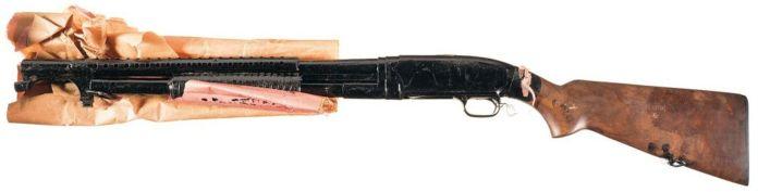 Model 12 trench shotgun