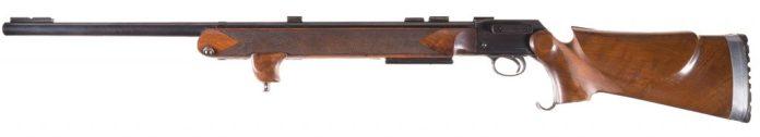 Al Freeland BSA Martini rifle