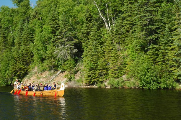 paddle downriver