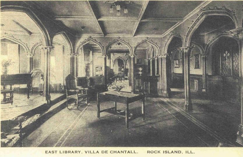 Villa de Chantal East Library  RIPS