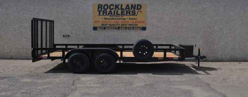small resolution of standard duty tandem axle utility trailer 7k