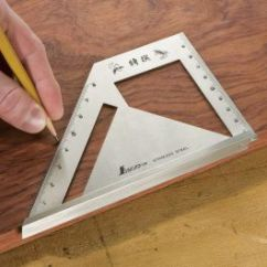 Rolling Chair Parts Universal Fishing Accessories 45/90 Degree Saddle Square And Miter   Rockler Woodworking Hardware