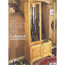 Woodworkers Journal Gun Bookcase and Curio Cabinet Plan