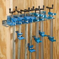 Pipe Clamp Rack/Bar Clamp Rack - Rockler Woodworking Tools