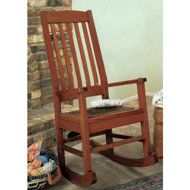 wood rocking chair styles bookshelf for sale woodworker s journal craftsman style plan rockler tap to expand