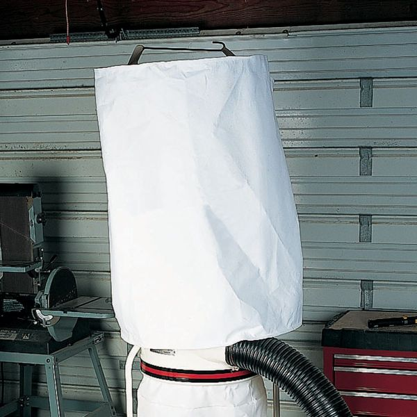 "14"" Diameter X 42"" Long Shaker Felt Dust Collection Bag"