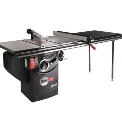 sawstop 3hp professional table saw w 52 fence rails and extension sawstop extension table sawstop table saw with diagram [ 1000 x 1000 Pixel ]