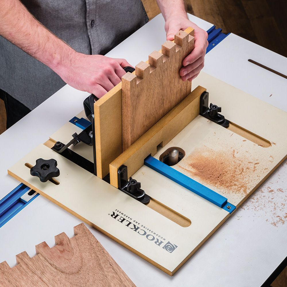 Rockler Box Joint Jig Review