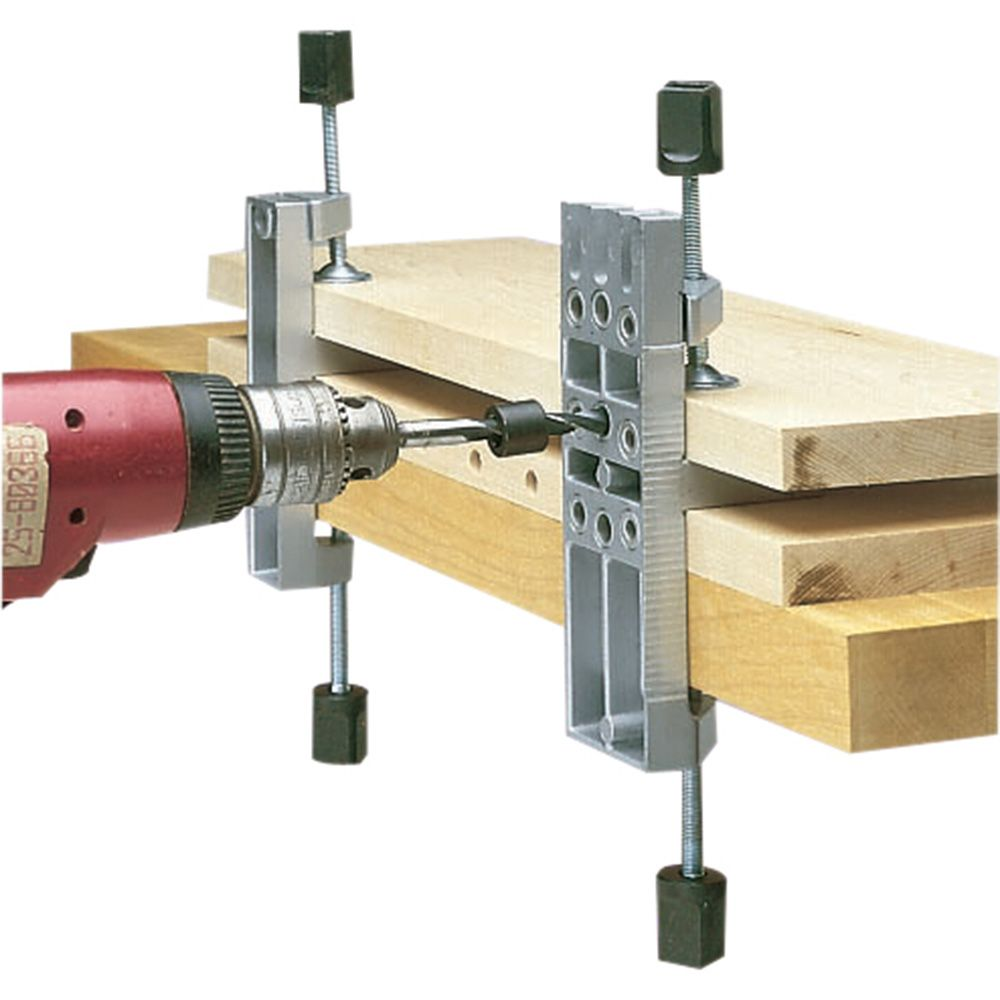 Wolfcraft 3751405 Dowel Pro Doweling Jig Kit Instructions