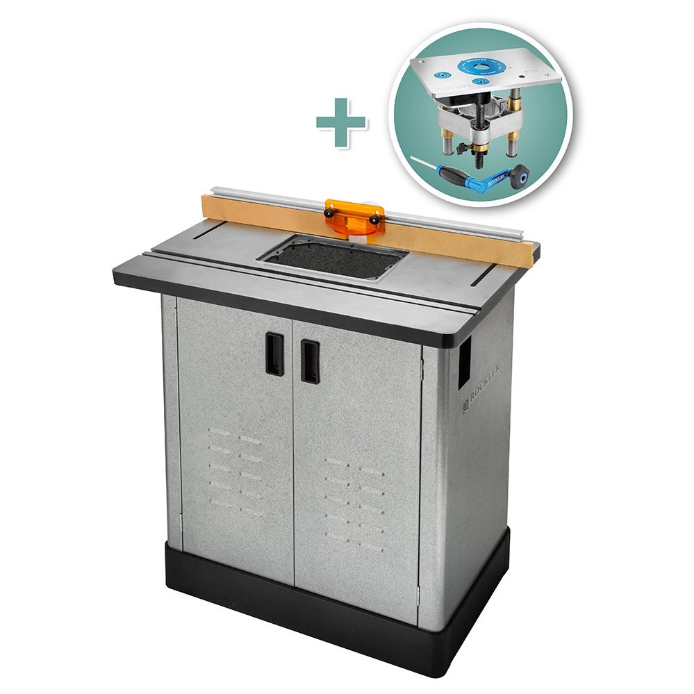 Bench Dog 174 Cast Iron Router Table Pro Fence Steel