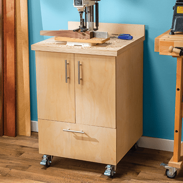 Table Saw Storage Cabinet Plans