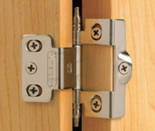 Wraparound Hinge A Wraparound Is A Style Of Hinge Where The Leaves Are Formed To Wrap Around The Edge Of The Door And Or The Cabinet Side Or Face Frame