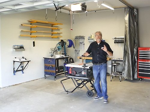 Video: Setting Up a Small Woodworking Shop