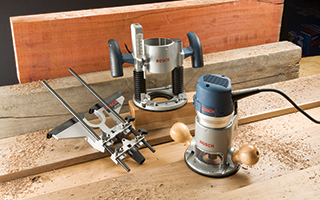 Interchangeable Base Router