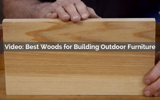 building outdoor furniture