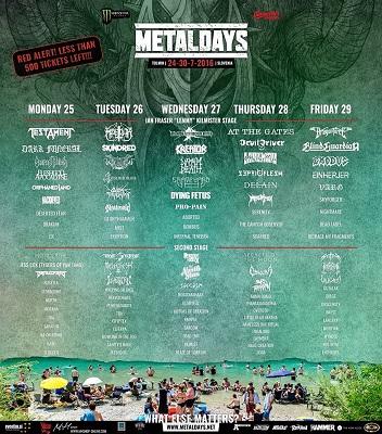 Metaldays 2016