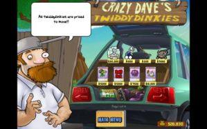Este é o seu vizinho, Crazy Dave. Fique atento às suas dicas, podem salvar sua pele!