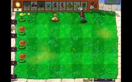 O jogo é bem colorido: cuide de suas plantas e elas manterão os zumbis longe de você!