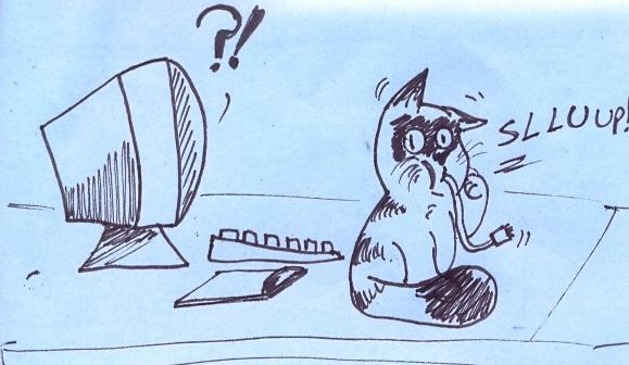 Cadê o mouse que tava aqui?