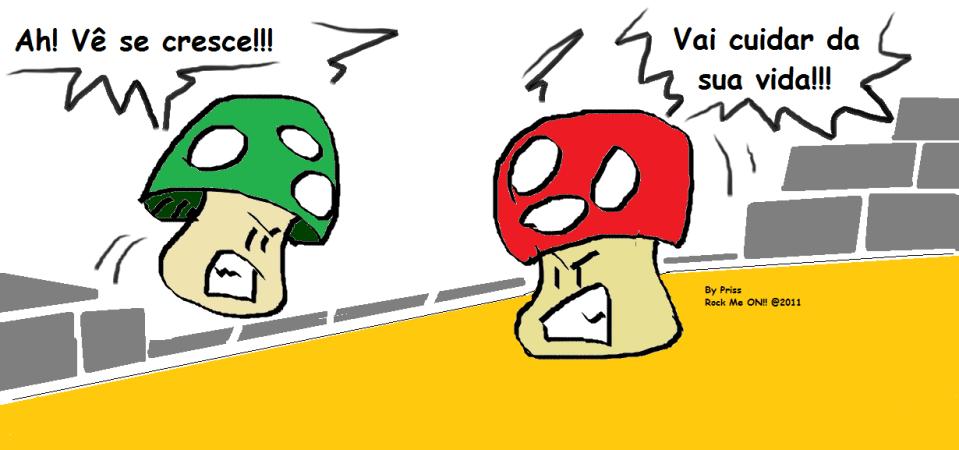 Para mim eles são Greeno e Red, tá? ;*