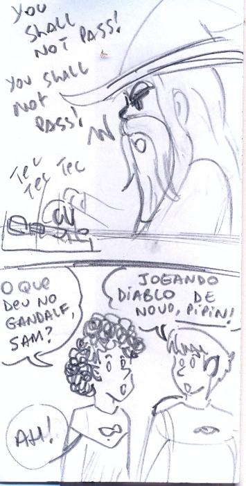 Gandalf vs Diablo