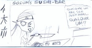 Golum Sushiman