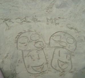 Feito nas areias de Boracéia!